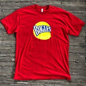 American apparel bugles t-shirt